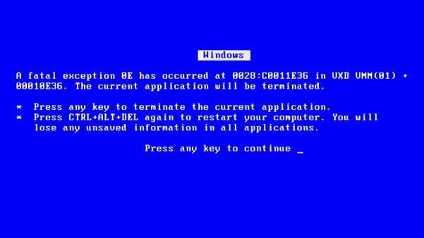 Синий экран - Почему аренда дешевого выделенного сервера - это плохая идея. Часть 1. Память.